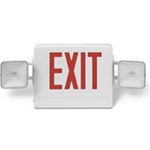 LED Red Emergency / Exit Light supplied by Fire Extinguishers Chicago, protectco inc