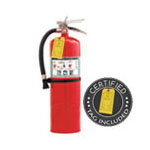 11 lb Halotron Clean Agent Fire Extinguisher