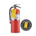 15 lb Halotron Clean Agent Fire Extinguisher