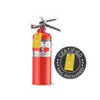 5 lb Halotron Clean Agent Fire Extinguisher