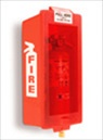 Red Plastic Cabinet with Red Cover for 5# Dry Chemical Fire Extinguishers
